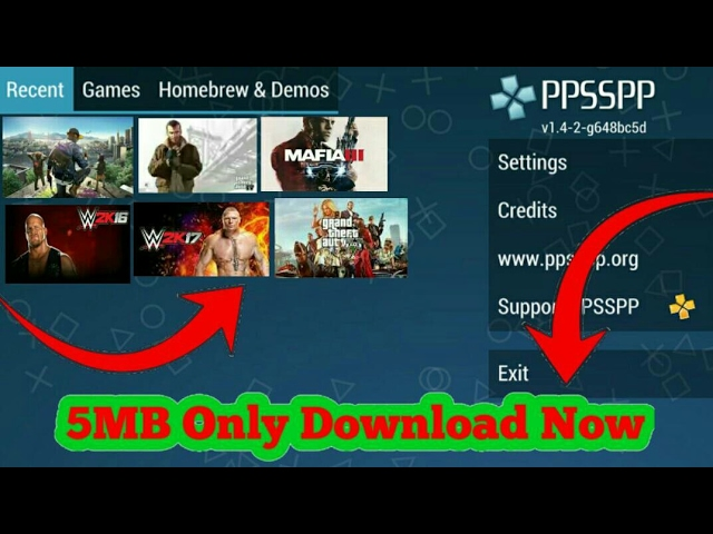 ⬆⬆⬆Download all you favourite ppsspp games in android phone