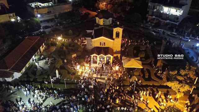 Πανηγυρίζει ο Ιερός Ναός «Θεομάνας – Οδηγήτριας» στη Νέα Κίο Αργολίδας (βίντεο)