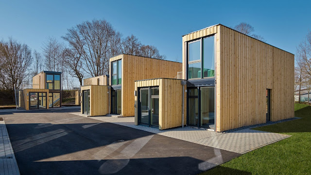 Shipping Container Tiny Homes Village, Germany 3