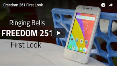 Freedom251-First-look-video