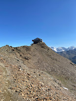 Top cable car station of Bormio 3000.