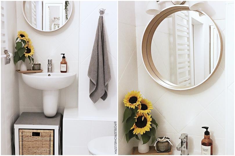 metamorfoza łazienki z malowaniem płytek ceramicznych