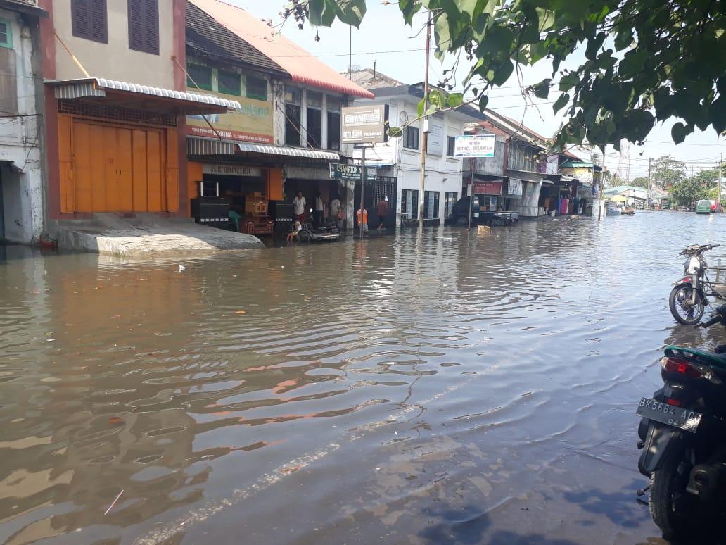 Ribuan Rumah Di Medan Belawan Terendam Banjir Rob Metro Online