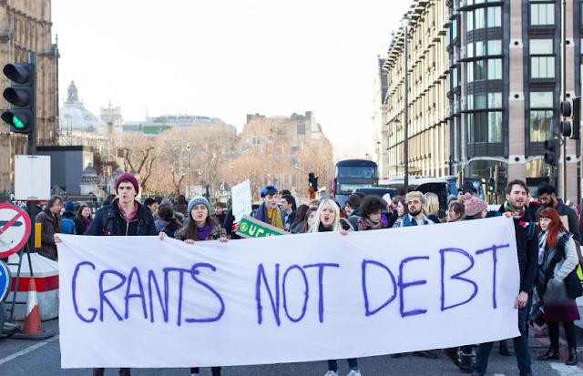 grant not debt strike