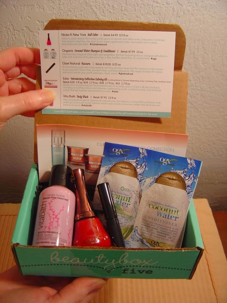 Beauty Box 5 June 2014