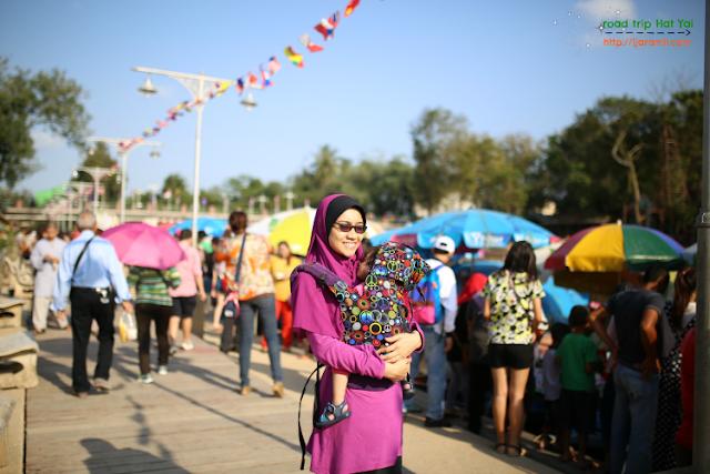 bercuti ke hat yai dan floating market