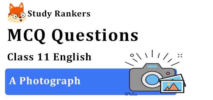 MCQ Questions for Class 11 English A Photograph Hornbill