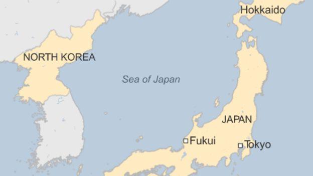 www.fertilmente.com.br - O Mar do japão separa a Coreia do Norte do território Japonês, é neste mar que tem aparecido os navios fantasma Norte Coreanos
