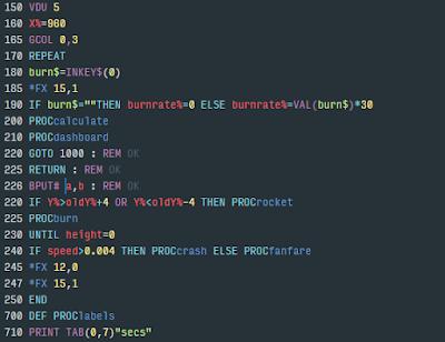BBC BASIC programming