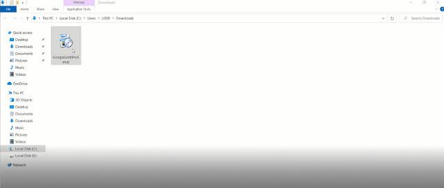 طريقة تحميل برنامج جوجل ايرث