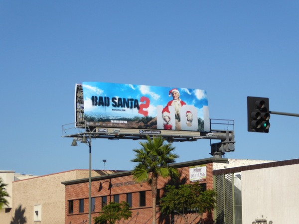 Bad Santa 2 billboard