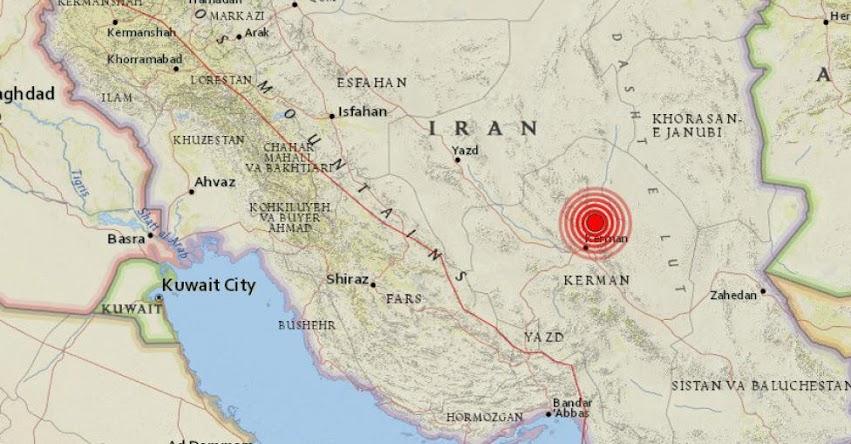 TERREMOTO EN IRÁN: Fuerte sismo de 5.9 de magnitud y Alerta de Tsunami (Hoy Lunes 12 Diciembre 2017) Sismo Temblor EPICENTRO Kermán - USGS