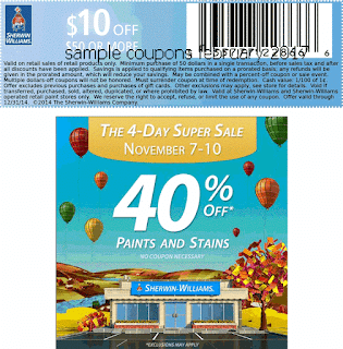 free Sherwin Williams coupons for february 2017