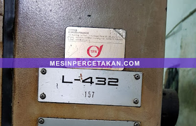 KOMORI Lithrone 432