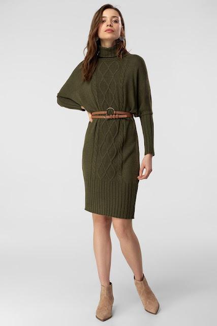 Triko Elbise Modası Ve Yeni Sezon Triko Elbiseler