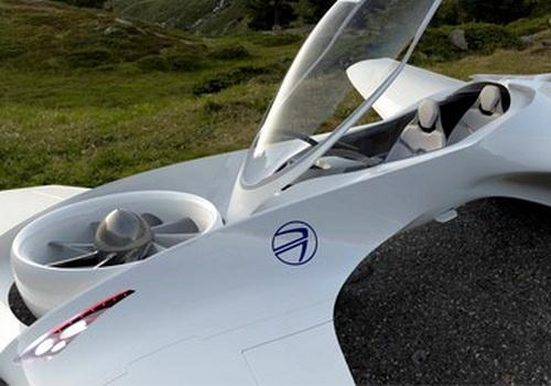 Tinuku.com DeLorean Aerospace builds DR-7 VTOL flying car