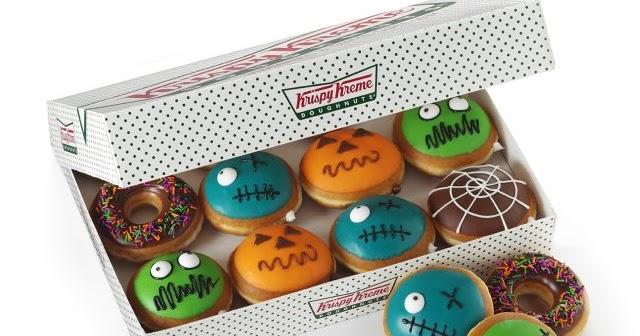 Krispy Kreme Reveals 2016 Halloween Donuts
