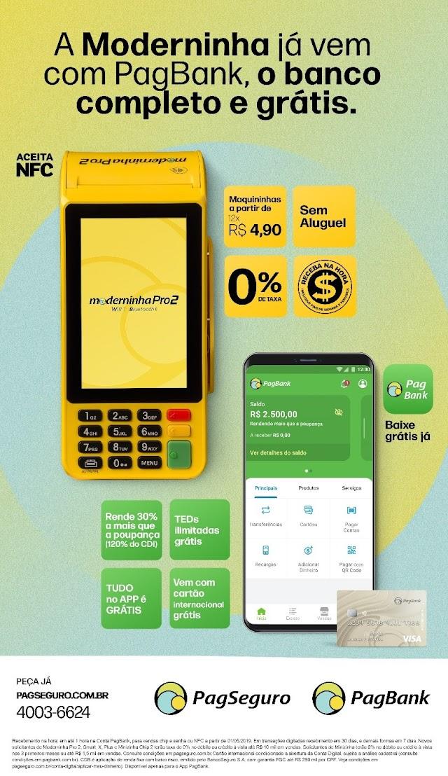 PagSeguro PagBank lança nova campanha das Moderninhas