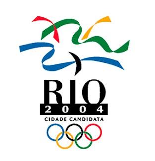 Marca do Rio de Janeiro como cidade candidata para sediar os jogos olímpicos de 2004