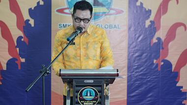 Lepas 141 Siswa Kelas XII Angkatan Dua, SMK TI Bali Global Badung Gelar Secara Virtual