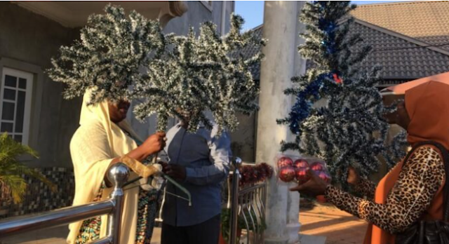 Muslim decorates reverend's house with Christmas tree in Kaduna