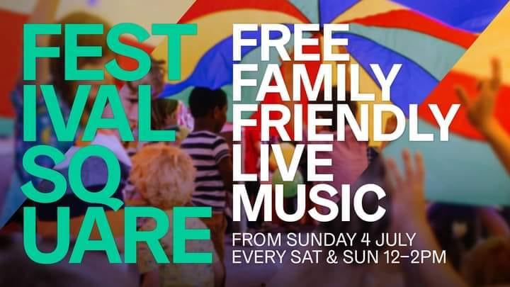 Festival Square Family Rave Manchester