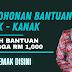 Permohonan Bantuan Kanak-Kanak RM 1,000