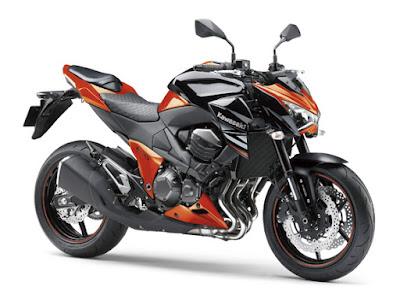 All New 2016 Kawasaki Z800 ABS side Image