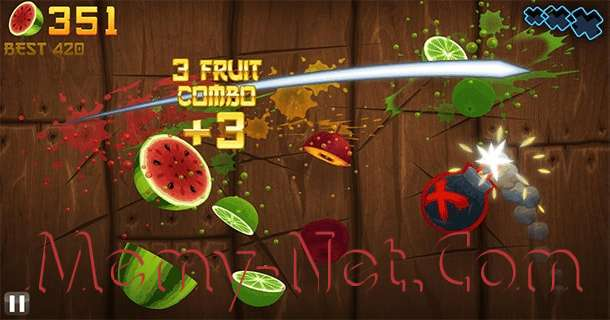 Download Game Fruit Ninja PC