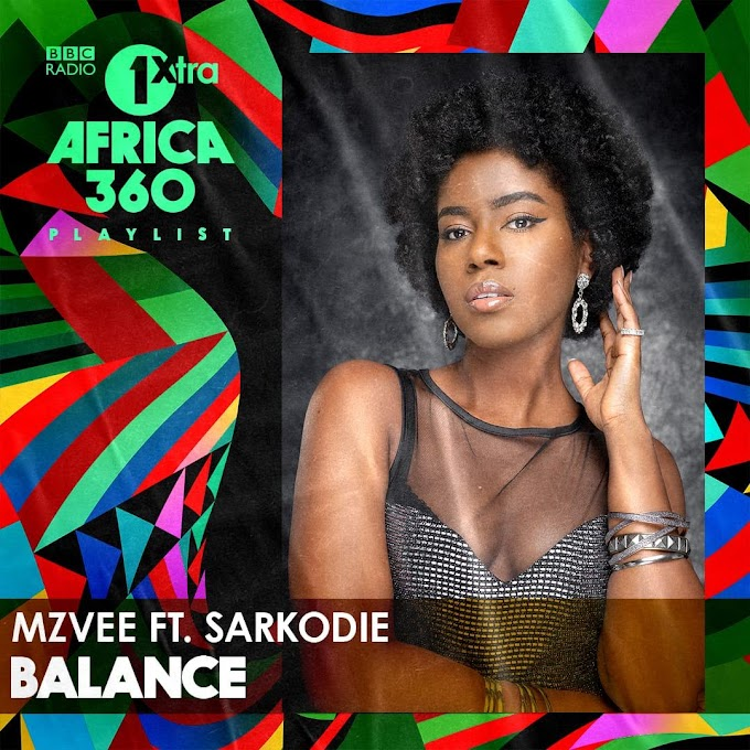 MzVee's 'Balance' gets featured on BBC 1Xtra's Africa 360 playlist