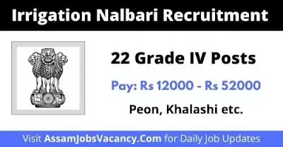 Irrigation Nalbari Job