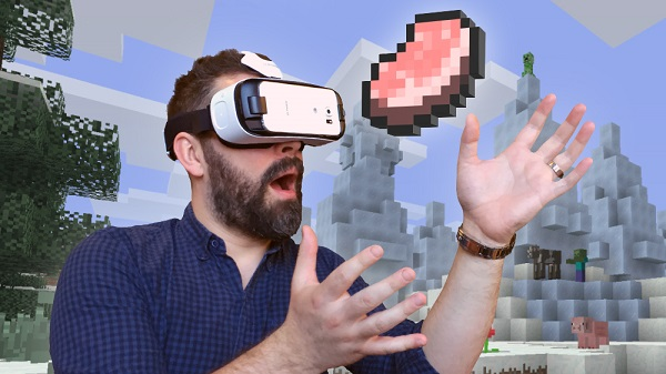 Minecraft now available on Samsung Gear VR