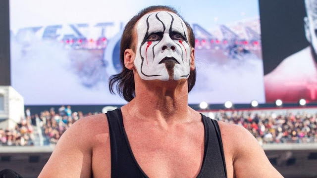 Sting a WrestleMania 31-en – (Fotó: WWE)