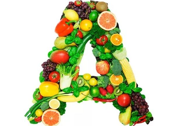 Where there is vitamin A in food?