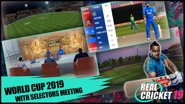 Real Cricket 19 World Cup Update