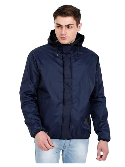 VERSATYL Rain Jackets For Men Waterproof, All Season Riding Jacket Stylish, Windcheater