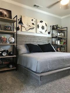 Dekorasi kamar Tidur Cowok Aesthetic