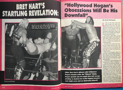 Inside Wrestling  - November 1998 - Bret Hart's Startling Revelation: Hulk Hogan's Obsessions Will Be His Downfall