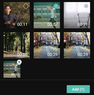 add video to the project