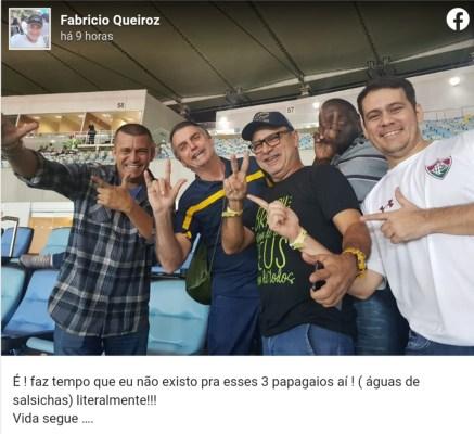 Queiroz manda indireta a aliados de Bolsonaro: 'Não existo para eles'