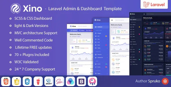 Crypto Admin and Dashboard Template