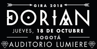 Concierto de DORIAN en Bogotá 2018