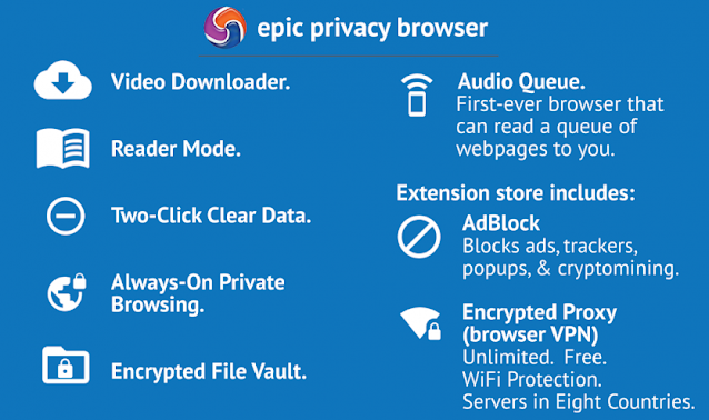 Download Epic Privacy Browser for Windows