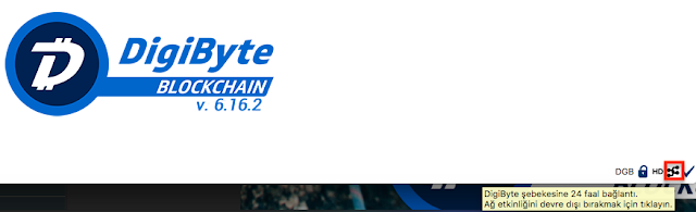 DigiByte Core Connected Peers
