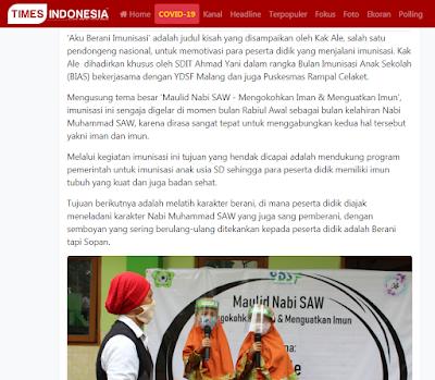 Kak Ale Pendongeng Malang