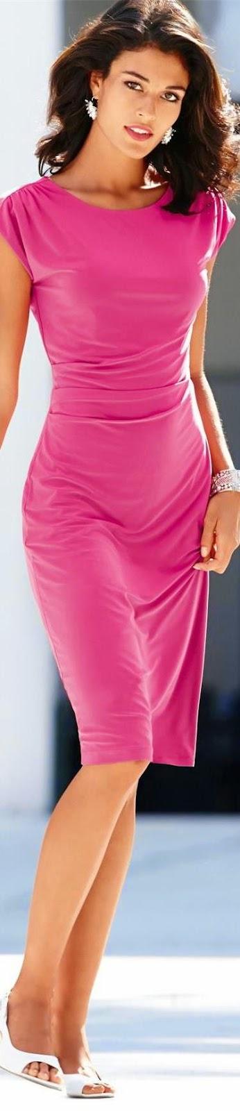 MADELEINE PINK DRESS