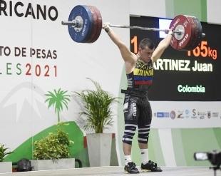 Pesista de Santa Rosa de Cabal es campeón panamericano juvenil