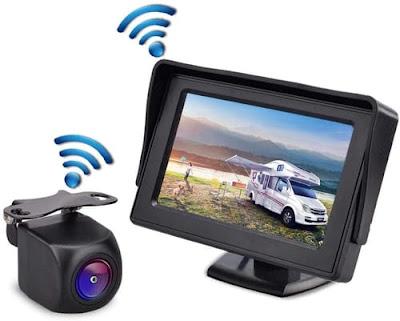 Gizzsh HD Wireless Backup Camera for Trucks