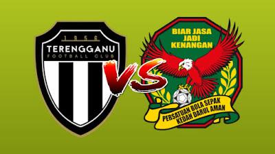 Live Streaming Terengganu vs Kedah Piala Malaysia 13.9.2019