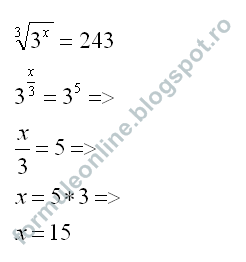 exponential equations example with solution